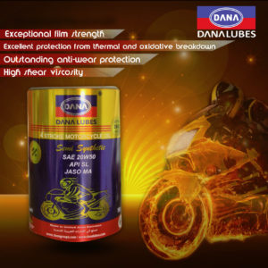4T motorcycle engine oil by Dana Lubes Dubai UAE