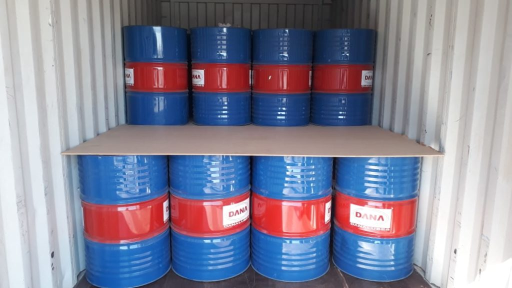 DANA Engine oil is supplied to many countries