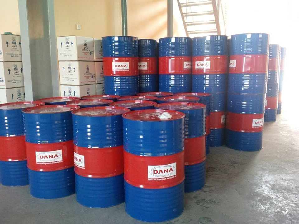 DANA knitting oil is supplied to many countries