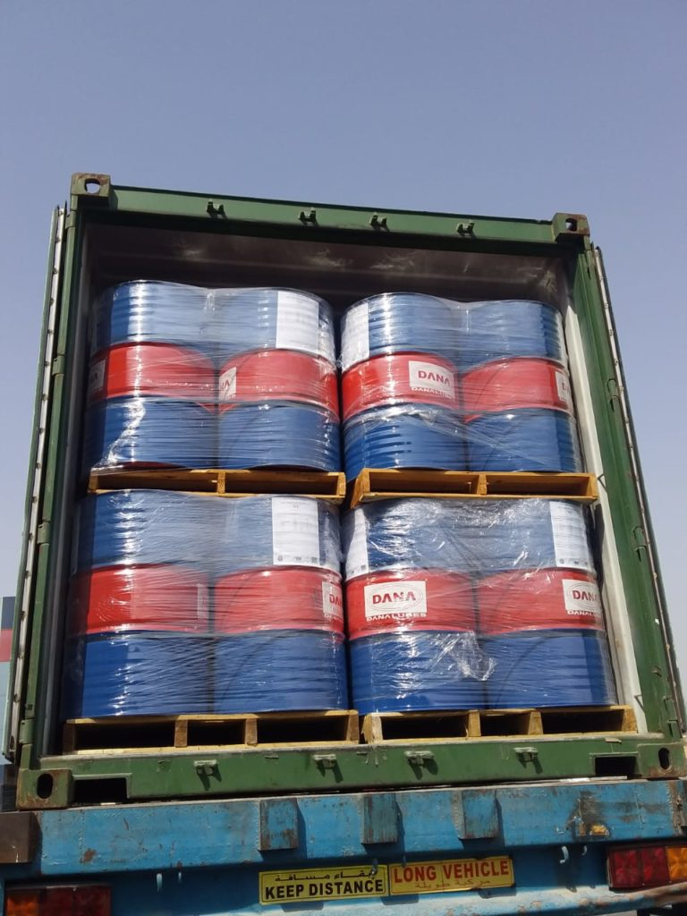 High grade Engine Oil is produced at DANA