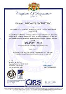DANA_ISO_45001_2018_Certificate